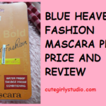 BLUE HEAVEN FASHION MASCARA PHOTOS PRICE AND REVIEW