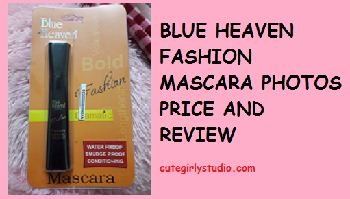 blue heaven mascara