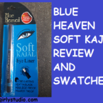 Blue heaven soft kajal review photos and swatch