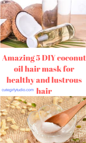 Amazing coconut oil hair masks for healthy hair