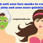 Use these anti acne face masks and forget your acne