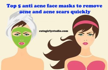 Use this anti acne face mask and forget your acne