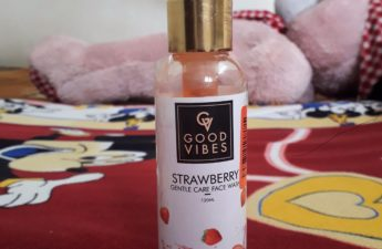 Good vibes strawberry face wash