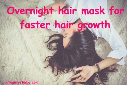 Overnight hair mask for hair growth
