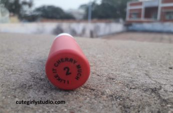 Stay Quirky lip balm review - I like it cherry much