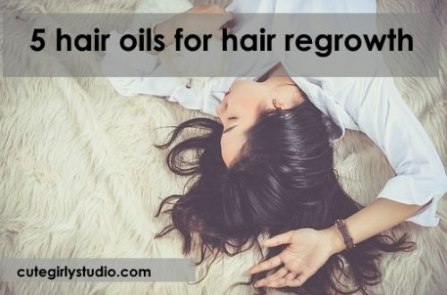 Top 5 hair oils for hair regrowth