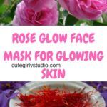 Rose glow face mask for glowing skin – DIY