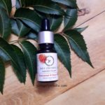 Juicy chemistry frankincense snd hemp seed acne control serum review