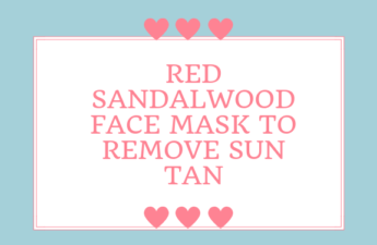 RED SANDALWOOD FACE PACK TO REMOVE TAN