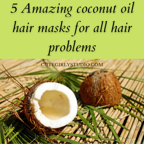 Coconut hair mask featured