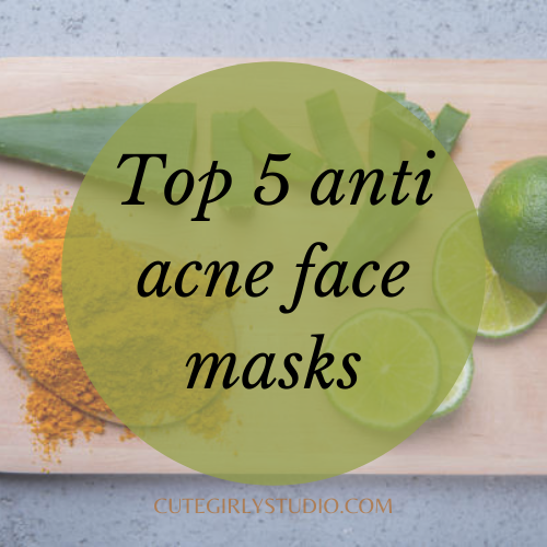 Anti acne face mask featured