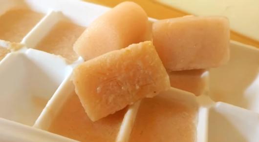 Potato ice cube to remove Tan