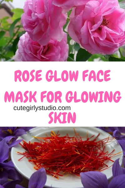 ROSE GLOW FACE MASK FOR GLOWING SKIN