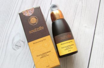 Soultree tulsi and sandalwood gel moisturizer