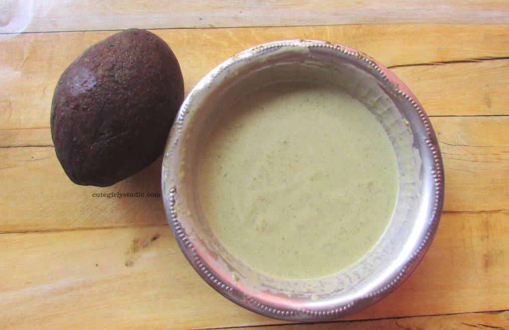 DIY Avocado and coconut milk hair mask for hair growth