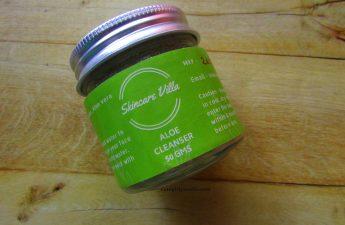 skincare villa aloe cleanser review