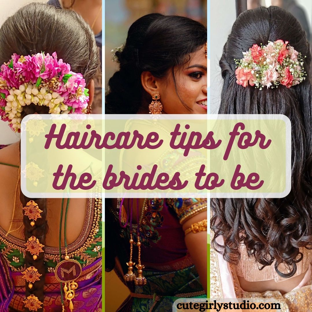 haircare tips for the brides to be