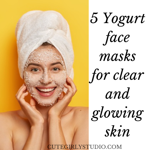 5 Yogurt face masks for clear and glowing skin