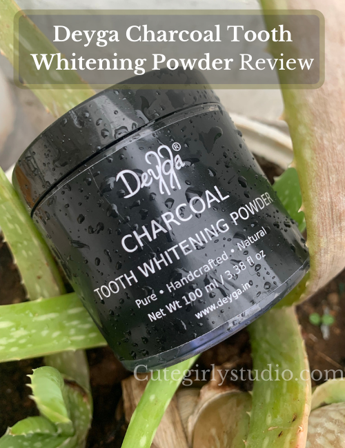 Deyga Charcoal Tooth Whitening Powder Review
